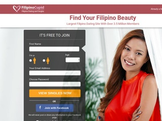 Filipino Cupid Homepage Image