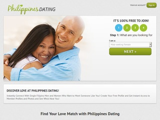 Philippines Dating Homepage Image